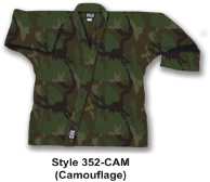 8.5 oz Super-Middleweight Karate Jacket - Camo