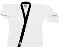 8.5 oz Super-Middleweight Karate Jacket - White with Black