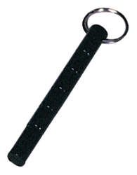 "5.5"" Black Hestitan Key Chain"