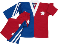 8 oz V-Neck Team Uniform - Stars & Stripes