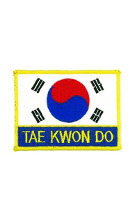 Tae Kwon Do Patch - 5 Pack