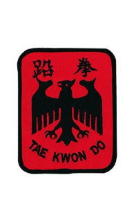TKD Eagle Patch - 5 Pack