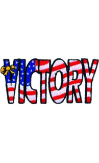 Victory Patch - 5 Pack
