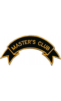 Master's Club Patch - 5 Pack
