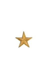 "1 1/2"" Star Patch - Deluxe Colors - 10 Pack"