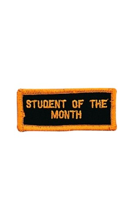 Student of the Month Patch - 5 Pack
