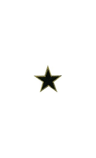 "1"" Star Patch - Deluxe Colors - 10 Pack"