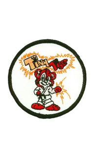 Round Tiny Tiger Patch - 5 Pack