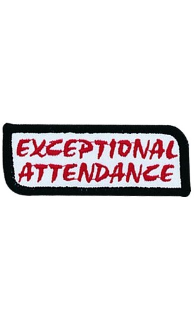 Exceptional Attendance Patch - 5 Pack