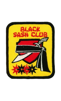Black Sash Club Patch - 5 Pack