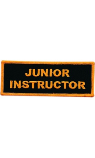 Junior Instructor Patch - 5 Pack
