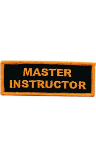Master Instructor Patch - 5 Pack