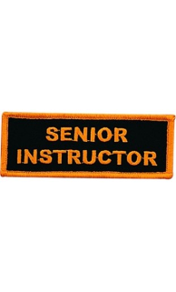 Senior Instructor Patch - 5 Pack