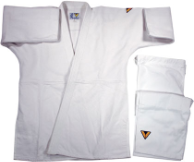 Super-Heavyweight Single Weave Jiu-Jitsu Uniform - White