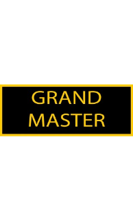 Grand Master Patch - 5 Pack