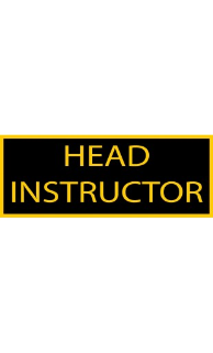 Head Instructor Patch - 5 Pack