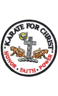 Karate for Christ Patch - 5 Pack