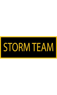 STORM Team Patch - 5 Pack