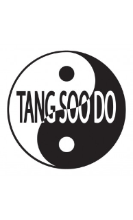 Yin Yang Tang Soo Do Patch - 5 Pack