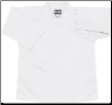 8.5 oz V-Neck Martial Arts Top - White (SKU: 202-W)