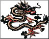 Black & Red Dragon Patch - 5 Pack
