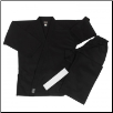 7.5 oz Middleweight Karate Uniform - Black
