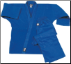 7.5 oz Middleweight Karate Uniform - Blue