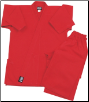 7.5 oz Middleweight Karate Uniform - Red