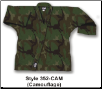 8.5 oz Super-Middleweight Karate Jacket - Camo (SKU: 352-CAM)