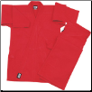 13 oz Super-Heavyweight Traditional Karate Uniform - Red