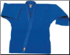 14 oz Super-Heavyweight Karate Jacket - Blue (SKU: 502-BL)
