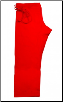 14 oz Super-Heavyweight Karate Pants - Red (SKU: 504-R)