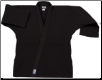 12 oz Heavyweight Karate Jacket - Black (SKU: 552-B)