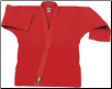 12 oz Heavyweight Karate Jacket - Red (SKU: 552-R)