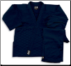 Single Weave Judo/Jiu-Jitsu Uniform - Black (SKU: 575-B)
