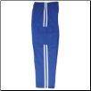 Martial Arts Cargo Pants - Blue With White Stripes (SKU: 6203-BLW)