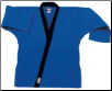 8.5 oz Super-Middleweight Karate Jacket - Blue with Black (SKU: 6300-BLB)