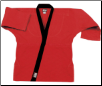 8.5 oz Super-Middleweight Karate Jacket - Red with Black