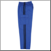 Martial Arts Cargo Pants - Blue With Black Stripes