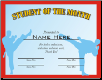 Student of the Month Certificate - Pack of 10 (SKU: CER-1)