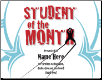 Student of the Month Certificate - Pack of 10 (SKU: CER-64)