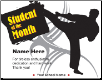 Student of the Month Certificate - Pack of 10 (SKU: CER-65)