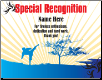 Special Recognition Certificate - Pack of 10 (SKU: CER-69)