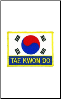 Tae Kwon Do Patch - 5 Pack (SKU: 2144)