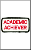 Academic Achiever Patch - 5 Pack