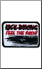 Kick-Boxing Feel the Rush Patch - 5 Pack (SKU: 2515)