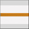Poly/Cotton Kung Fu Sashes with Gold Stripe