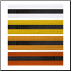 Colored Martial Arts Rank Belt with Black Stripe