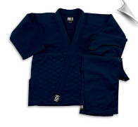 Single Weave Judo/Jiu-Jitsu Uniform - Black