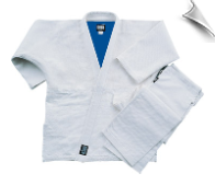 Double Weave Judo/Jiu-Jitsu Uniform - Blue and White Reversible